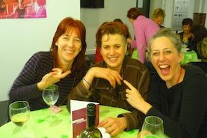 with Madeline McNamara and Dawn Albinger