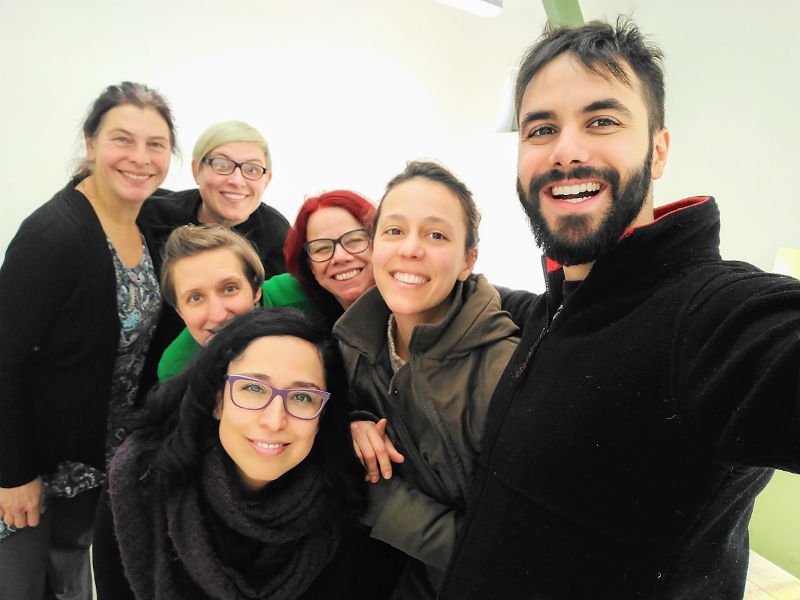 Magdalena München Saison 2018: Tapete Manifesto workshop group